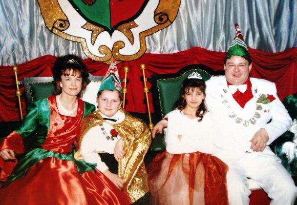 44. Saison des KCW - 2004 als Prinz mit Gabi Seiler.