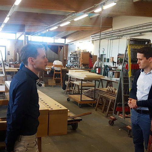 Ein Blick in die Holzwerkstatt